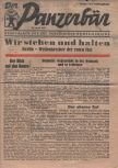 Der Panzerbär Kampfblatt für die Verteidiger GroßBerlinswas a German daily tabloid newspapen Berlin. It was published by the Ullstein-Verlag, and appeared only seven times - between 23 and 29 April 1945.