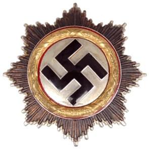 German Cross in gold.
