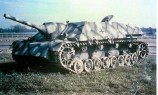 Jagdpanzer (Hunting Tank) IV (Sd.Kfz.162) armed with a 75mm (3 inch) L/48 gun.
