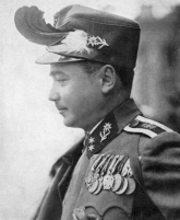 Dollfuss pictured in Kaiserschützen uniform, 1933.