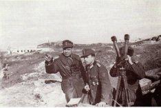 Erich Bärenfänger on the front lines.