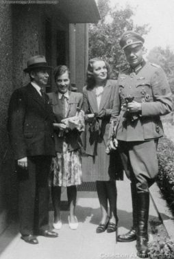 Erich Bärenfänger with his beloved wife Margot Rücker.