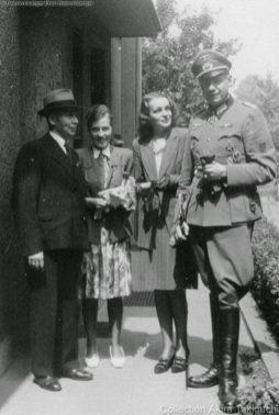 Erich Bärenfänger with his beloved wife Margot Rücker.