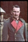 Eugen Ritter von Schobert at Sudetenland.