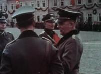 Fedor von Bock (center) and General der Infanterie Viktor von Schwedler (right).