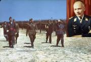 Field Marshal Wolfram Freiherr Von Richthofen, cousin of the Red Baron, Chief of staff of the Condor Legion, died of a brain tumor in 1945.