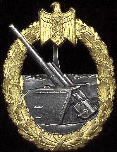 Naval Artillery War Badge