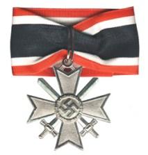 War Merit Cross with Swords