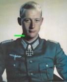 Waldemar von Gazen wearing Schwerter.