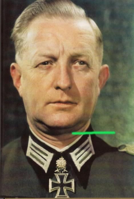 Walter Gorn as an Oberst.