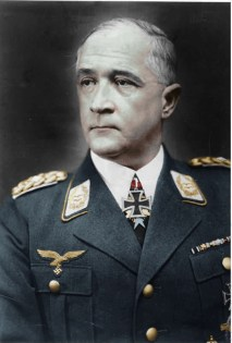 Beautiful colorized image of Robert Ritter von Greim
