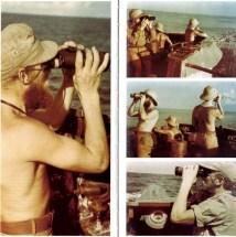 Robert Gysae at sea.