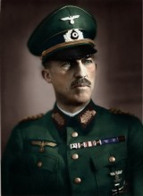 Colorized image of Paul von Hase.