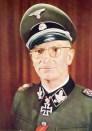 Herbert Otto Gille as an SS-Gruppenführer.
