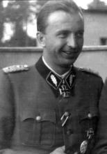 Hermann Fegelein as SS-Standartenführer.