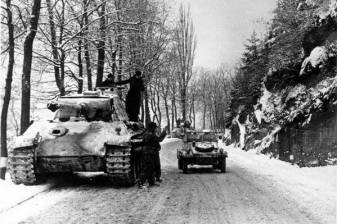 Hitler agrees to withdraw all forces from the Ardennes, including the SS Panzer Divisions, 7 January 1945.