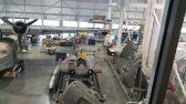 Horten Ho 229 at the Mary Baker Engen Restoration Hangar in VA with detached plywood wings.