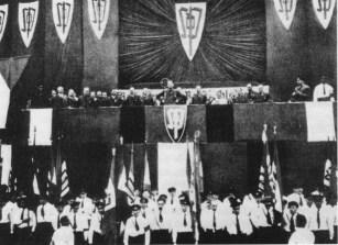 K.H.Frank speaking during 1938 SdP congress.
