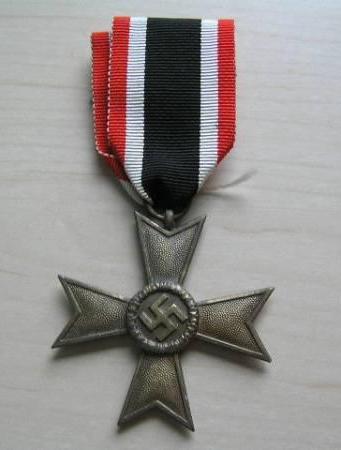 War Merit Cross without swords.