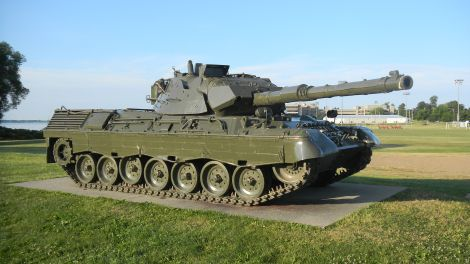 Canadian Leopard C2 Royal Military College of Canada.