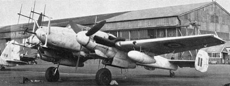 Bf 110 G-4.