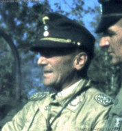 Eugen Meindl in tripical uniform.