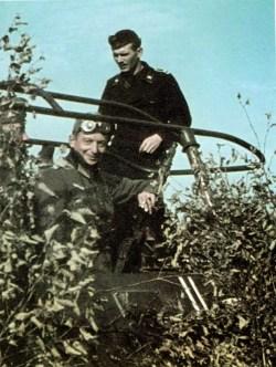 Oberst Dr. Ing. Alexander von Grundherr zu Altenthan und Weyerhaus (1896-1973), Kommandeur Panzer-Artillerie-Regiment 76 / 6.Panzer-Division.