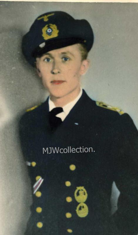Obersteuermann Walter Nehm