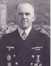 Admiral Otto Ciliax.