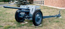 Pak 36(r) antitank-gun at the Base Borden Military Museum, Ontario, Canada.
