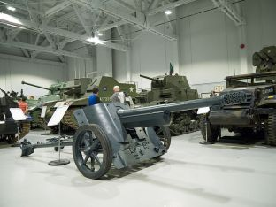 7.5 cm Pak 97/38 at the Base Borden Military Museum, Ontario, Canada.