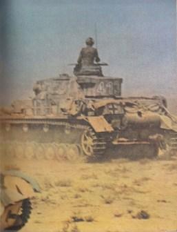 Panzer IV in Afrika.