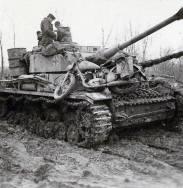 Panzer IV Ausf.H. in muddy terrain.