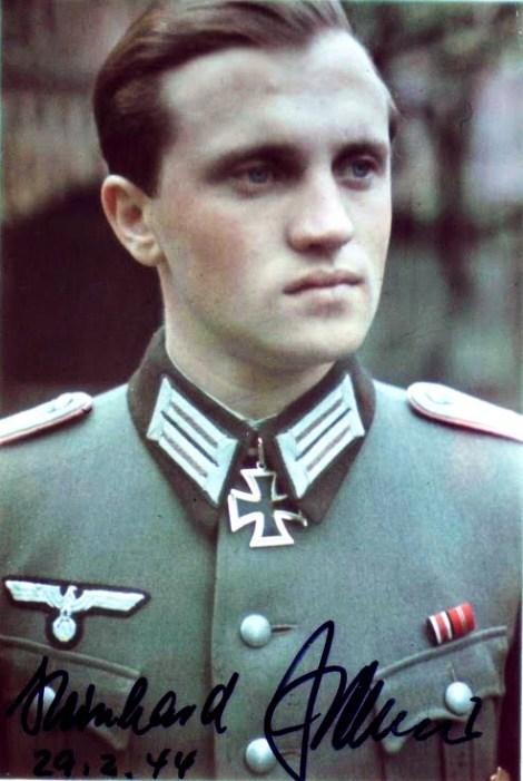 Oberleutnant der Reserve Reinhard Peters