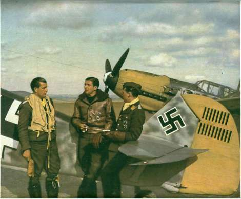 Hans Philipp at Coquelles, France, August 1940.