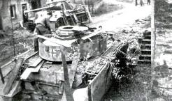 PzKpfw IV Ausf.J, turret number 615 of 10th SS- Panzer Division Frundsberg.