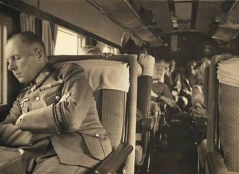 Rommel flying to Warsovia.