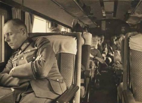 Rommel flying to Warsovia.