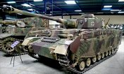 Panzer IV at the Musée des Blindés - Tank Museum - France.