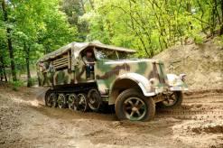 SdKfz 7, 8 Ton Cargo