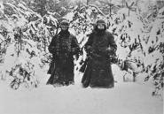 German soldiers west of Moscow, December 1941.