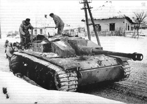 Stug III at Kharkov.