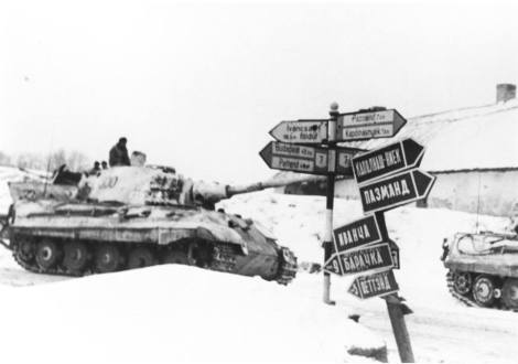 Tiger 2's of the 509th Heavy Panzer Battalion (abbreviated s.Pz.Abt. 509).