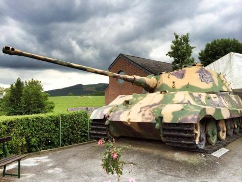 King Tiger 213 - December 44 Historical Museum - La Gleize, Belgium.