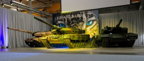 The armoured battalion 203 has won ten of the new Leopard tanks.