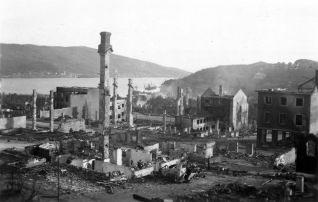Narvik, after bombing by the Luftwaffe.
