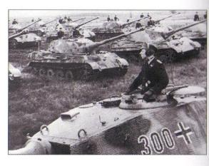 Tiger 2's of the 503rd Heavy Panzer Battalion