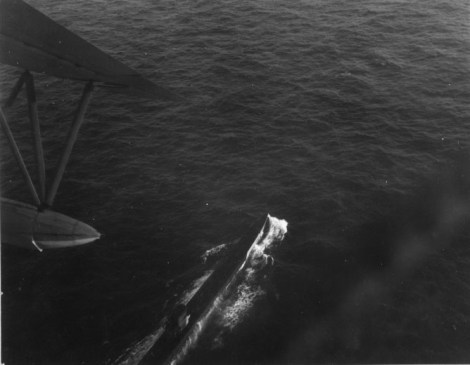 U-199 under attack by Brazilian Air Force PBY Catalina, 31 July 1943.