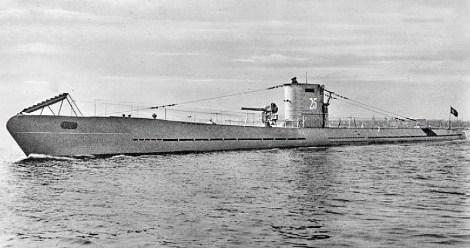 U-25, a Type I U-boat.