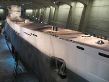 U-505, a type IXC U-boat.